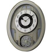 Rhythm Classic Brilliance Melody Wall Clock