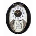 Rhythm Sable Snowflake Melody Wall Clock