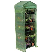 Gardman 6'7 5 Tier Growhouse With Reinforced Cover, Green
