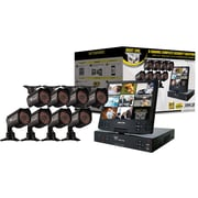 Night Owl NODVR108-54-685 8 Channel DVR With Fold-Out LCD Screen, 8 Cameras and 500GB HDD