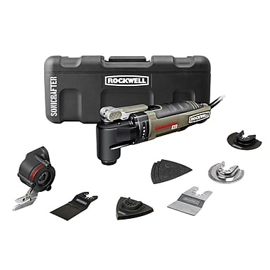 Rockwell™ Sonicrafter 3 Amp Hyper lock Universal Fit System