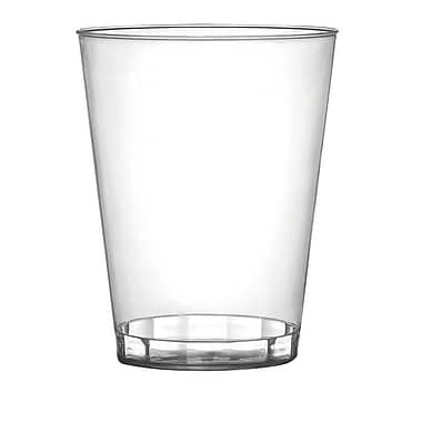 Savvi Serve Plastic Clear Hard Plastic Tumbler 7 Oz.