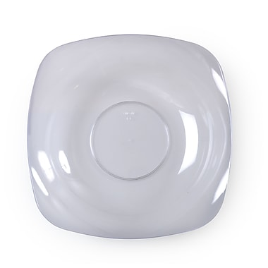 Renaissance Plastic Rounded Square China-Like Bowl 12 Oz.