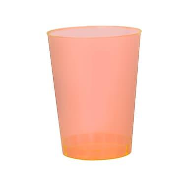 Savvi Serve Plastic Orange Neon Tumbler 1 Oz.