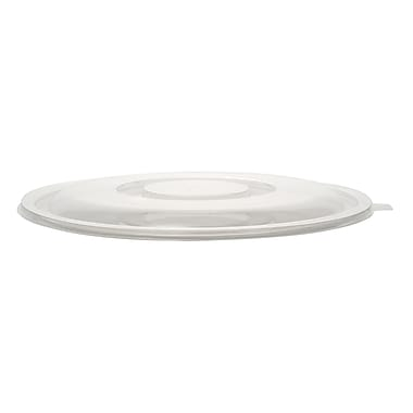 Super Bowl Plastic Clear Flat Lid 80 Oz.