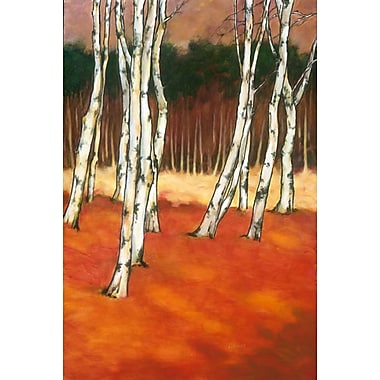 SilverBirch II by Reynolds, Canvas, 24