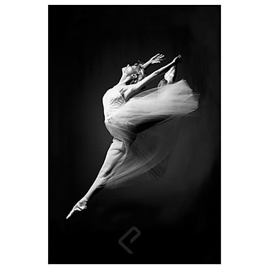 Ballerina - Grace in Motion, Stretched Canvas, 24