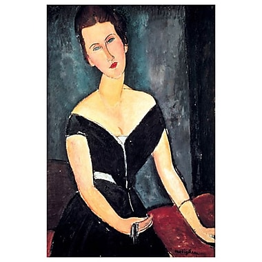 Madame Van Muyden by Modigliani, Canvas, 24