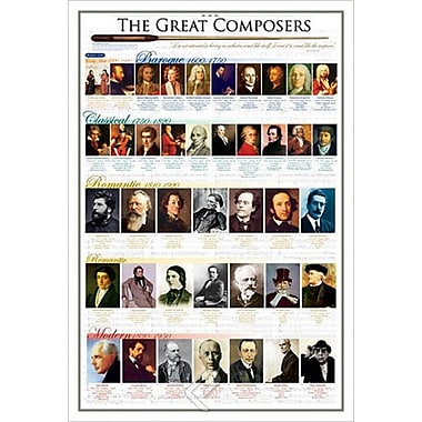 The Great Composers, Stretched Canvas, 24