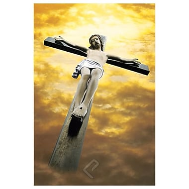 Crucified Christ (Jesus), Stretched Canvas, 24