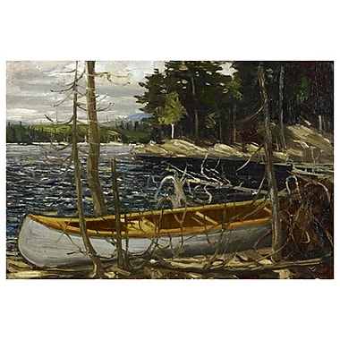 The Canoe by Thomson, Canvas, 24