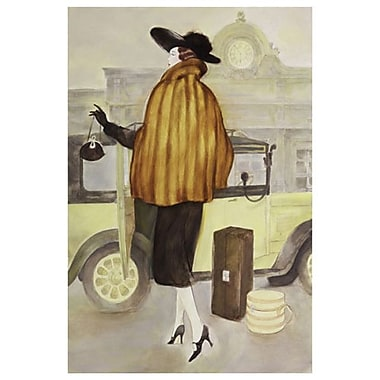 Taxi Lady by Reynolds, Canvas, 24