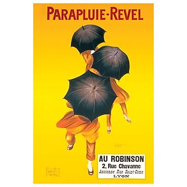 Parapluie by Cappiello, Canvas, 24