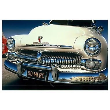 Ford Fairlane '50 de Reynolds, toile, 24 x 36 po