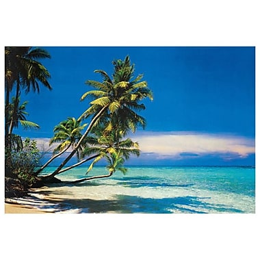 Tropical Beach I, Stretched Canvas, 24