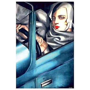 Self-Portrait by Lempicka, Canvas, 24