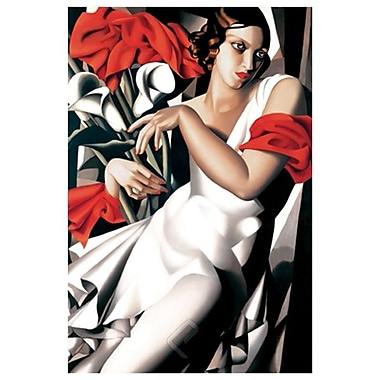 Portrait of Ira by Lempicka, Canvas, 24
