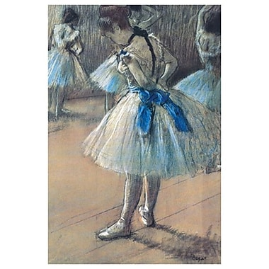 Ballerina by Degas, Canvas, 24