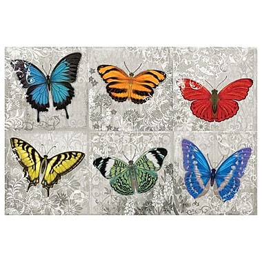 Butterfly Mural by Hopfensperger, Canvas, 24