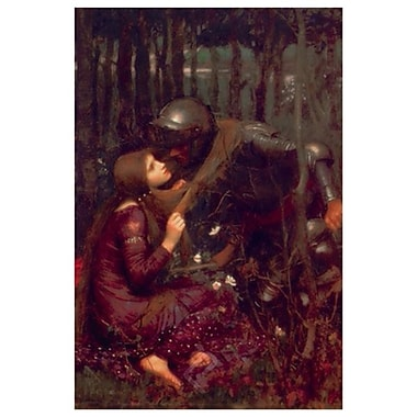 La belle dame sans merci de Waterhouse, toile, 24 x 36 po