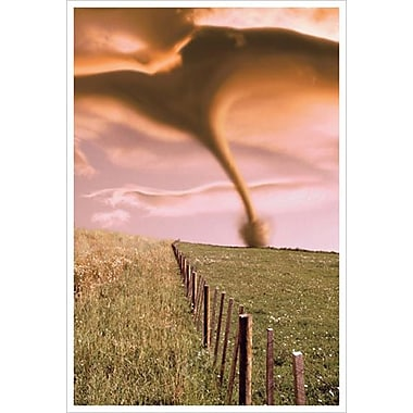 Tornado on Field, Stretched Canvas, 24