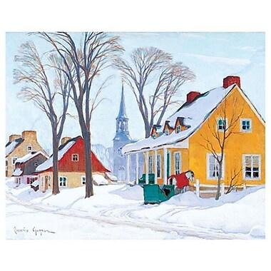 Gagnon Hiver Baie-Saint-Paul by Gagnon, Canvas, 24