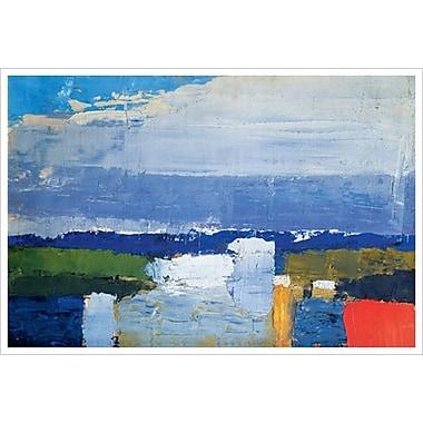 Noon Landscape by De Stael, Canvas, 24