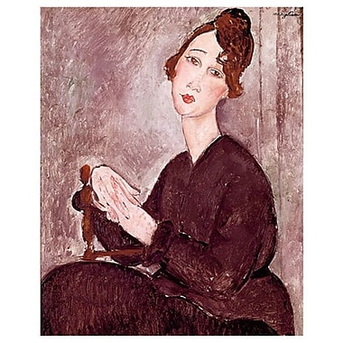Madame Dedie by Modigliani, Canvas, 24