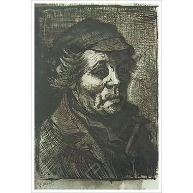 Peasant Head by Van Gogh, Canvas, 24