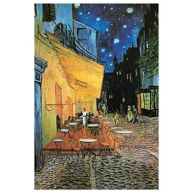 Cafe at Night by Van Gogh, Canvas, 24