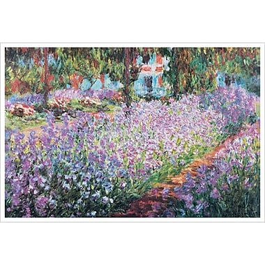 Monet's Garden by Monet, Canvas, 24