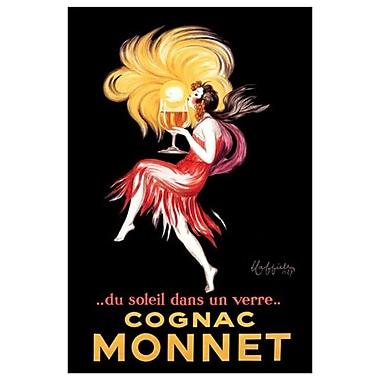 Cognac Monnet de Cappiello, toile, 24 x 36 po