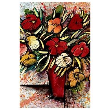 Bouquet d'automne de Provenzano, toile, 24 x 36 po