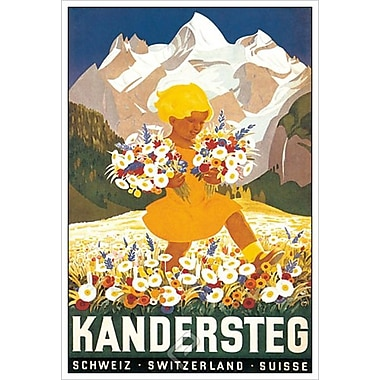 Kandersteg, Stretched Canvas, 24