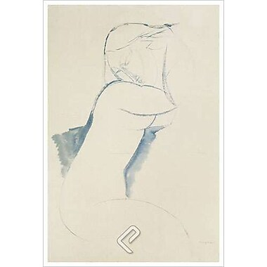 Cariatide by Modigliani, Canvas, 24