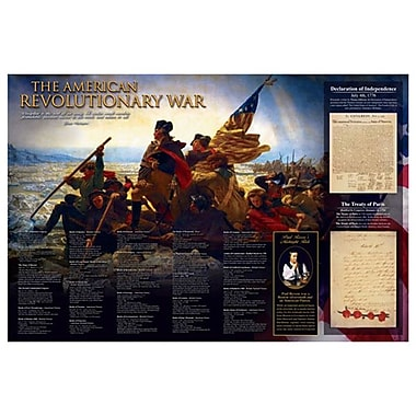 American Revolution, Stretched Canvas, 24