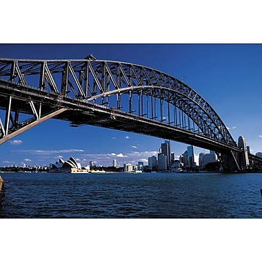 Sidney Harbor Bridge, Stretched Canvas, 24