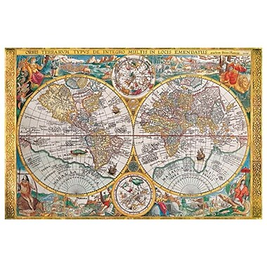Map - Orbis Terrarum, Stretched Canvas, 24