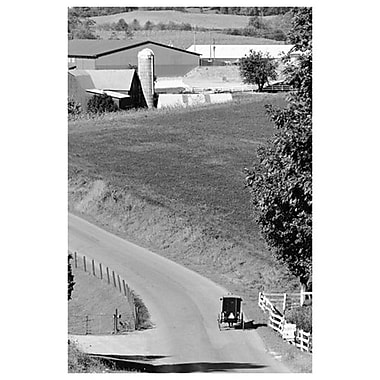 Farm Road (Ohio), toile tendue, 24 x 36 po
