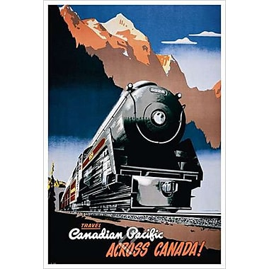 CP across Canada, Stretched Canvas, 24