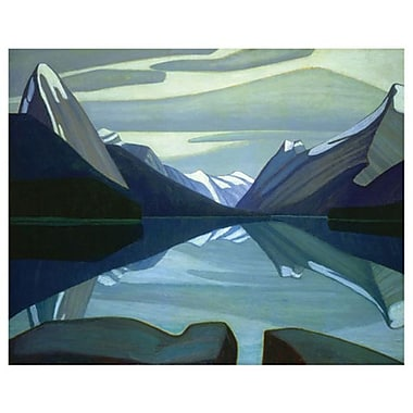 Harris Maligne Lake by Harris, Canvas, 24