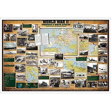 WWII-European & North African, Stretched Canvas, 24