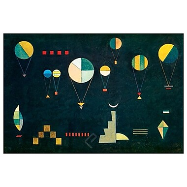 Plat Profond by Kandinsky, Canvas, 24
