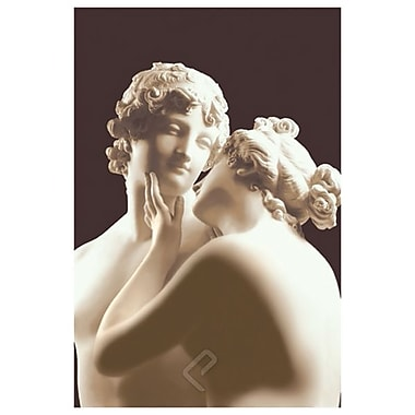Lovers by Canova, Canvas, 24