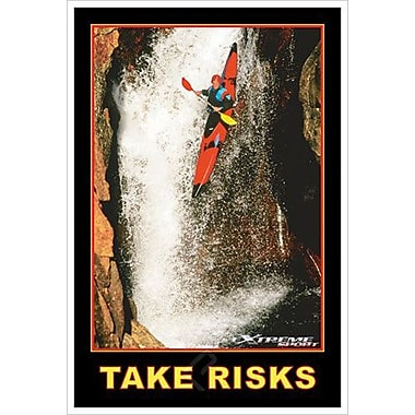 Take risk, toile tendue, 24 x 36 po
