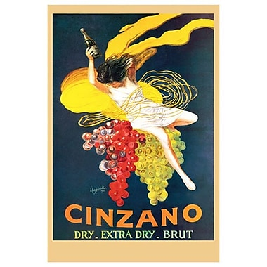 Cinzano Brut by Cappiello, Canvas, 24
