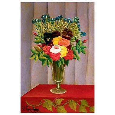 Flowers Lavender by Rousseau, Canvas, 24