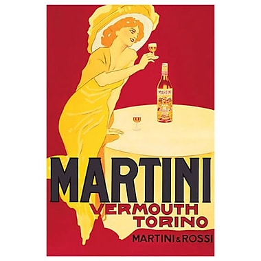 Martini Rossi-Vermouth Torino, Stretched Canvas, 24