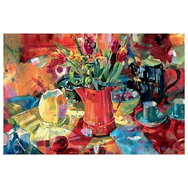 Pitcher of Flowers by Graham, Canvas, 24