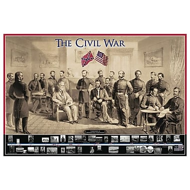 Civil War, Stretched Canvas, 24